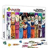 Puzzle de 500 piezas para adultos Dragon Ball Cartoon anime stills puzzle Intellectual Toy PuzzlesFun Family Game para niños adultos 52x38cm / 20.5x14.5 pulgadas