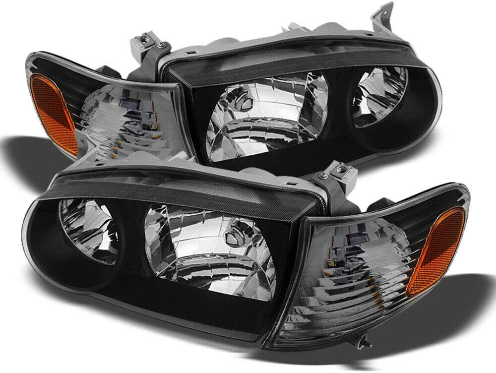NEW Popular shop is the lowest price challenge Albuquerque Mall Headlights Compatible with 2001-2002 Corolla Sedan 2001-2 CE