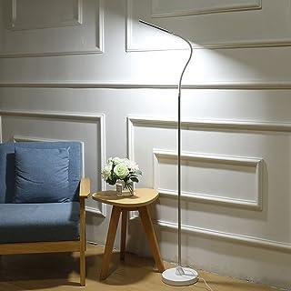 $lampe sur pied Lampadaire Led Piano Moderne Salon Chambre Chevet Étude Vertical Lampe De Table 8-12W (Couleur : White12W)