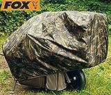 Fox Camo Barrow Cover - Regenschutz für Trolley, Schutzhülle für Karpfentrolley, Überwurf für Transportwagen