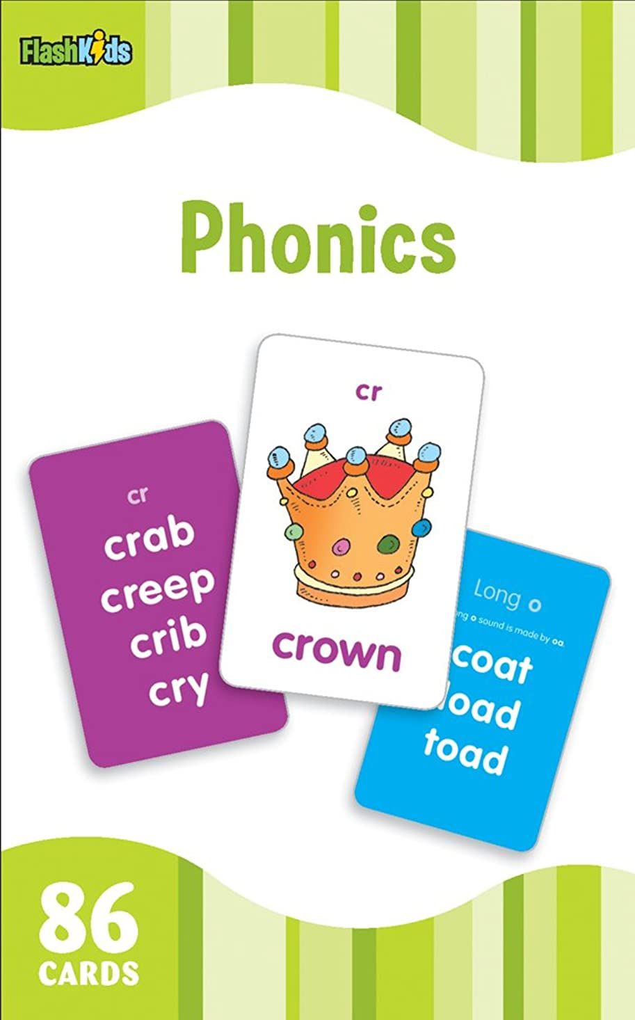 ナプキン敬意を表して処方するPhonics (Flash Kids Flash Cards)