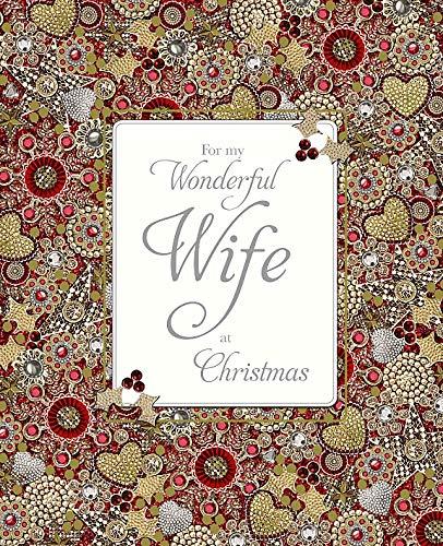 Me to You boxed, realizzato a mano, con biglietto d' auguri di Natale di lusso per My Wonderful Wife