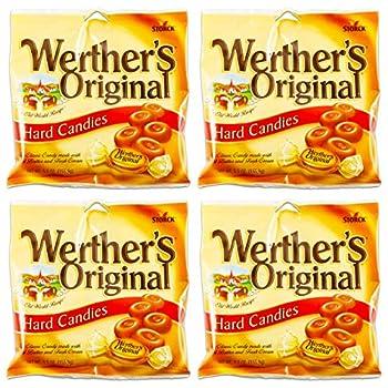 Werthers Original Hard Candies 2.65 Oz  Pack of 4