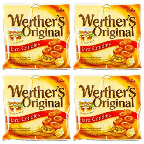 Werthers Original Hard Candies 2.65 Oz (Pack of 4)