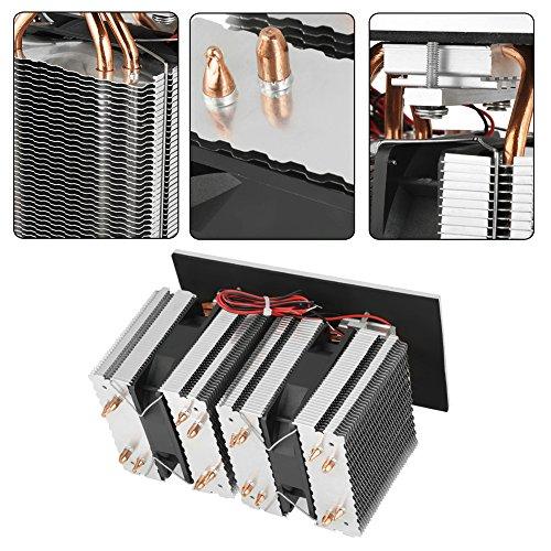 Halfgeleider koeling 12V 240W 2 * 12710 Elektronische halfgeleider DIY koelkast koeler koelsysteem Kit