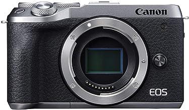 Canon Mirrorless Camera [EOS M6 Mark II](Body) for Vlogging|CMOS (APS-C) Sensor| Dual Pixel CMOS Auto Focus| Wi-Fi |Blueto...
