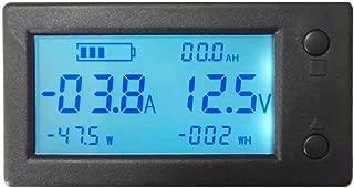 AiLi Battery Monitor DC 300V 100A Voltmeter Ammeter Voltage Amp Meter Gauge with Hall Effect Sensor Transformer