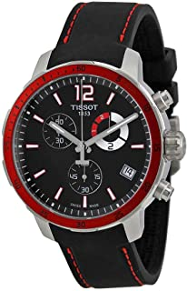 Tissot Quickster Chrono Football Silicone - Black Men's watch #T095.449.17.057.01