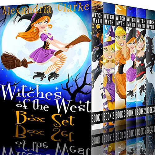 Couverture de Witches of the West: A Collection of Cozy Witch Mysteries