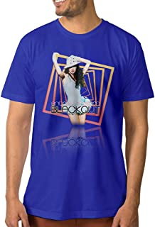 Show Time Men's Britney Spears Short Sleeve Classic Tee Black