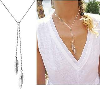 Dcfywl731 Fashion Three Triangle Arrow Long Chain Pendant...