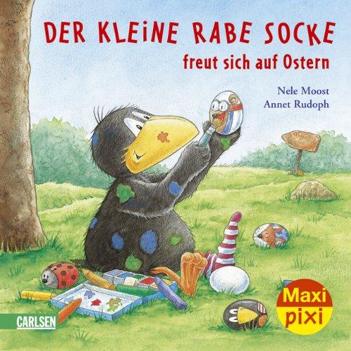Maxi-Pixi Nr. 64: Der kleine Rabe Socke freut sich auf Ostern