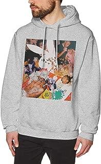 ATONE9 Men's Hoodie Sweatshirt Playboi Poke It Out-Carti Cotton Sweater Black