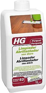 HG Limpiador Abrillantador uso diaro para parquetr 1L - un limpiador de suelos de aroma fresco especialmente desarrollado para la limpieza regular de todo tipo de suelos de parquet
