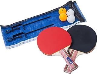 Ping Pong Set 2 Raquetes Dupla Face 4 Bolinhas 410150 Ntk