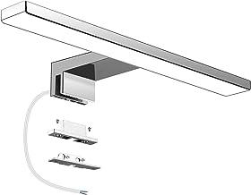 Aourow LED Badkamer Spiegel Licht,LED-Spiegellamp 5W 300mm 500lm IP44 Neutraal wit 4000k,LED-Badkamerspiegellampen Gemonte...