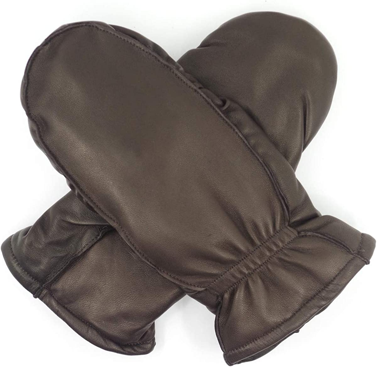 Harssidanzar Womens and Kids Lambskin Leather OFFicial site Tampa Mall Mittens The Winter