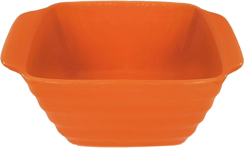 New York Mall American Atelier Bistro Square Bake Kansas City Mall Serve Bowl Orange and
