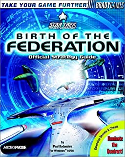 Star Trek: Birth of the Federation Official Strategy Guide (Brady Games)