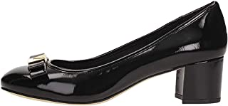 Michael Kors Womens Caroline Leather Round Toe Classic Pumps, Black, Size 7.5