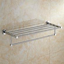 MBYW moderne minimalistische hoge dragende handdoek rek badkamer handdoekenrek Chroom Handdoek Rack/RVS Handdoek Rack/Rac...