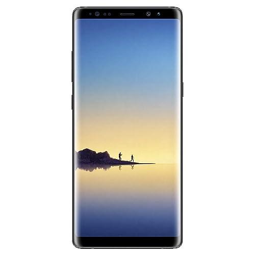 Samsung Galaxy Note 8, 64GB, Midnight Black - Fully Unlocked (Renewed)