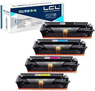 LCL Compatible Toner Cartridge Replacement for HP 202A 202X CF500A CF500X CF501X CF502X CF503X M254dw MFP-M281dw MFP-M281CDW MFP-M281FDW MFP-M280 (4-Pack Black Cyan Magenta Yellow)