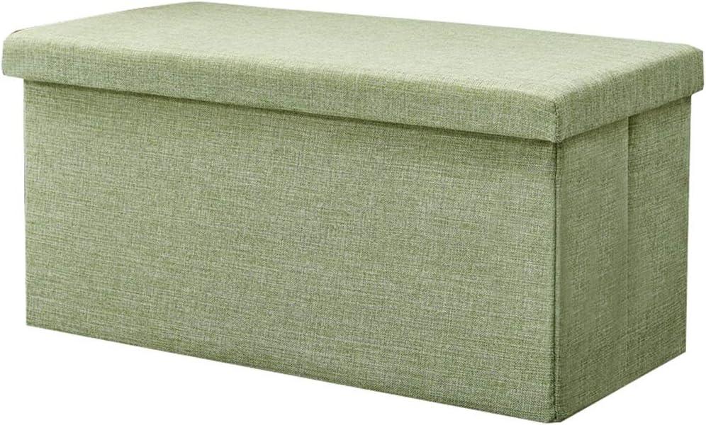 Folding Storage Stool Seat Box Quantity limited Large Mu 2021 spring and summer new Capacity