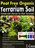 Terrarium Soil with Charcoal, for USE in Glass & Plastic Plant TERRARIUMS - Ready to USE (2.5 litres)