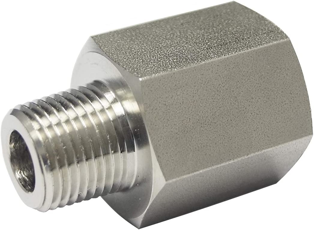 """RFS Max 45% OFF Stainless Steel 316 Pipe Adapter Lowest price challenge NPT 1 4"""" x Male Fitting"""