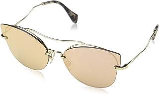b77ef35281f6 Miu Miu Women MU 52SS 62 Gold Gold Sunglasses 62mm
