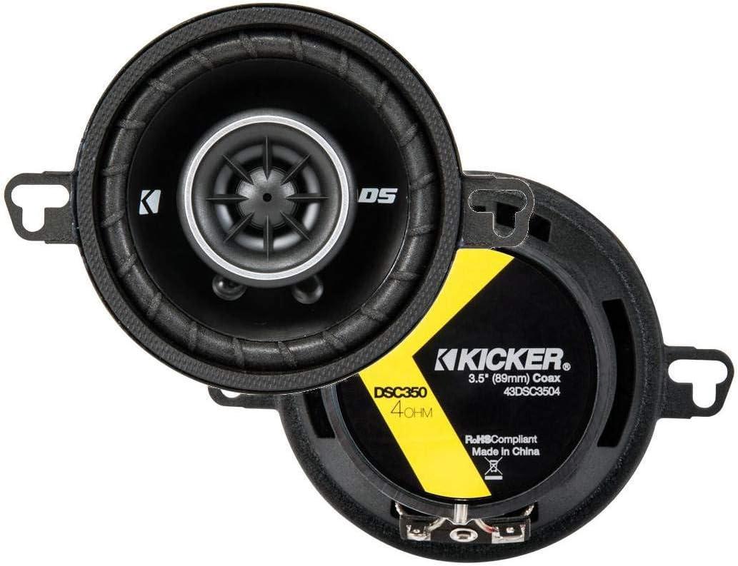 KICKER 43DSC3504 3-1 2-Inch 3.5-Inch 2-Way 30W Max 51% OFF DSC35 DS Price reduction Speakers
