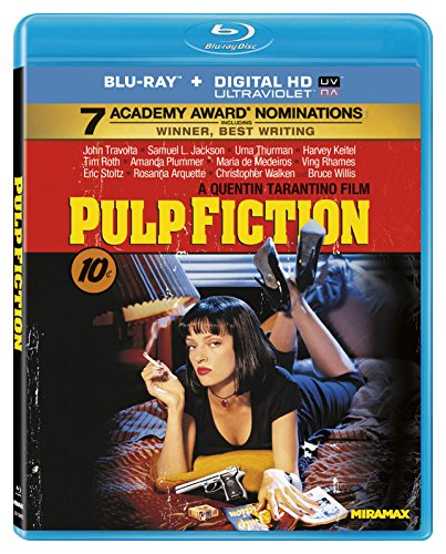 Pulp Fiction Blu-ray + Digital HD Ultraviolet [Importado]
