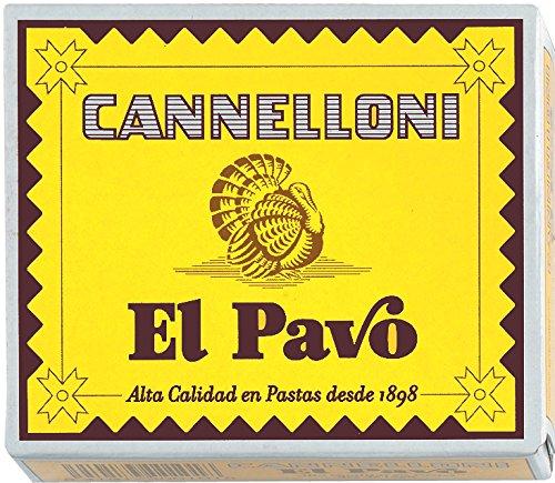 El Pavo - Canelones 125 gr - Pack de 6 (Total 750 grams)
