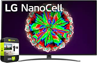LG 65NANO81ANA 65 inch Nano 8 Series Class 4K Smart UHD NanoCell TV with AI ThinQ 2020 Bundle with 1 Year Extended Protect...