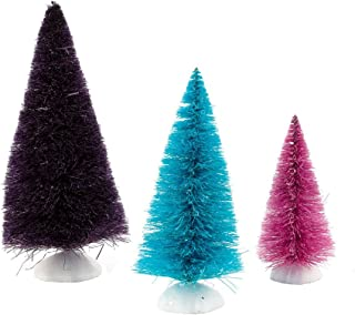 Department 56 Accessories for Villages Tinted Sisal Trees Accessory Figurine