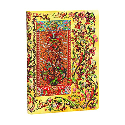 Paperblanks - Florentiner Kaskade Toskanische Sonne - Notizbuch Midi Unliniert