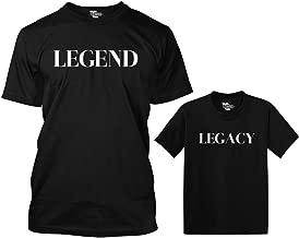 Legend/Legacy Matching Toddler & Men's T-Shirt