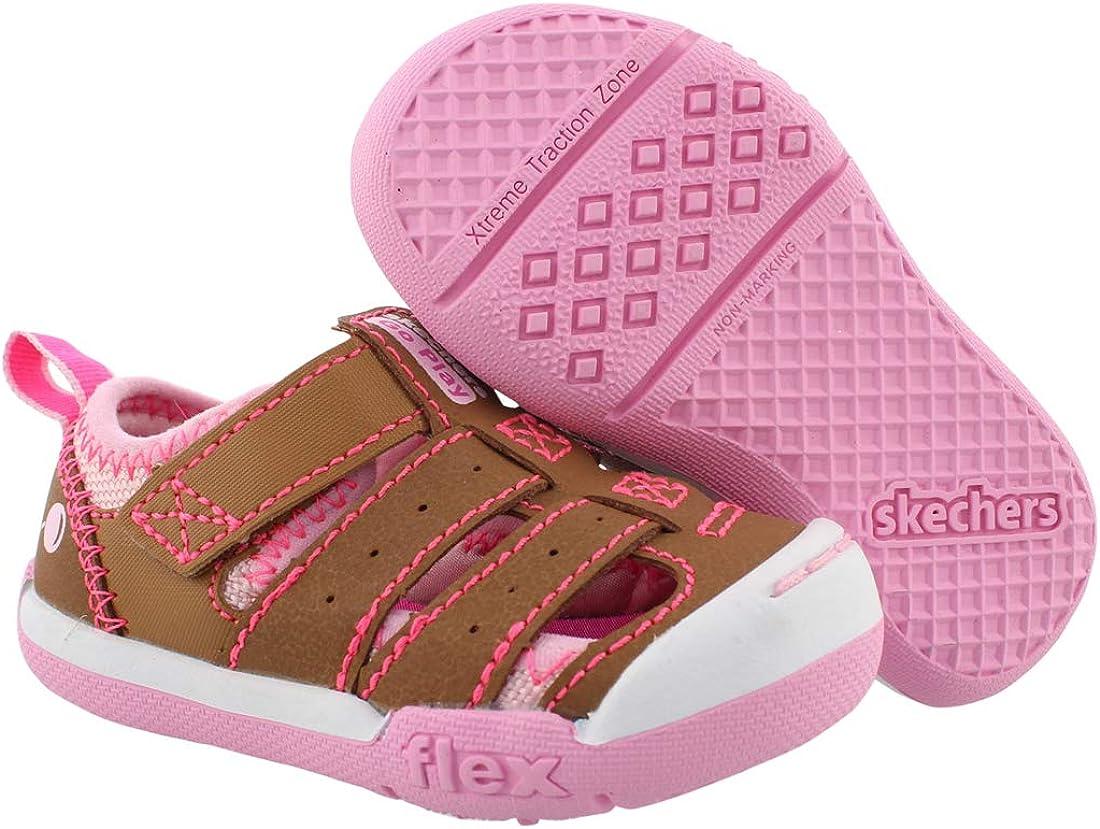 Skechers Flex Play Tiny Explorer Baby Girls Shoes
