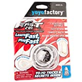 YoyoFactory FAST 201 Yo-Yo - NEGRO (Genial Para Principiantes, Juego Yoyo Moderno, Rodamiento de Bolas de metal, 'Freestyle Yoyoing Tricks', Cuerda e Instrucciones Incluidas) , color/modelo surtido