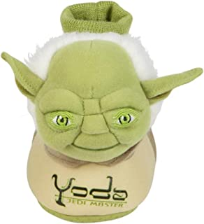 Star Wars Toddler Boys Yoda Slippers Jedi Master House Shoes 9-10