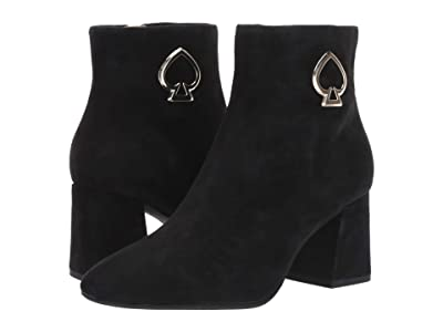 Kate Spade New York Alihandra (Black Suede) Women