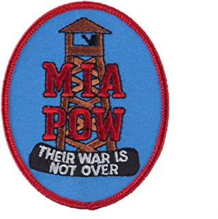 Pow Mia Embroidered Military Patch - Their War W01S14E