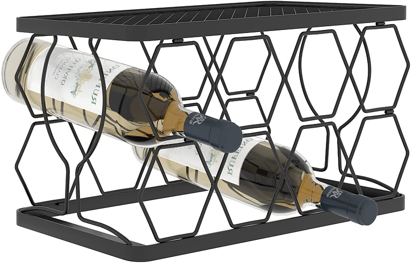 CASUN Wine A surprise price is realized Rack Metal Bottle Perfect Storag for OFFicial store Holder