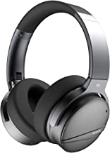Active Noise Cancelling Bluetooth Headphones - 3D Wireless Over Ear Hi-Fi Sound Foldable Headset with Microphone, Built-in...