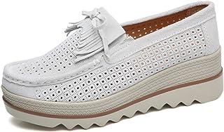 d774eccbc2262e Z.SUO Mocassins Femmes Suède Casuel Confort Chaussures Loafers