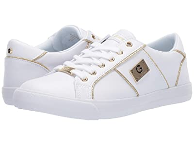 G by GUESS Ossy (White/Gold) Women