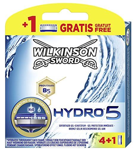 Wilkinson Sword Hydro 5 Rasierklingen für Herren Rasierer, 5 Stück