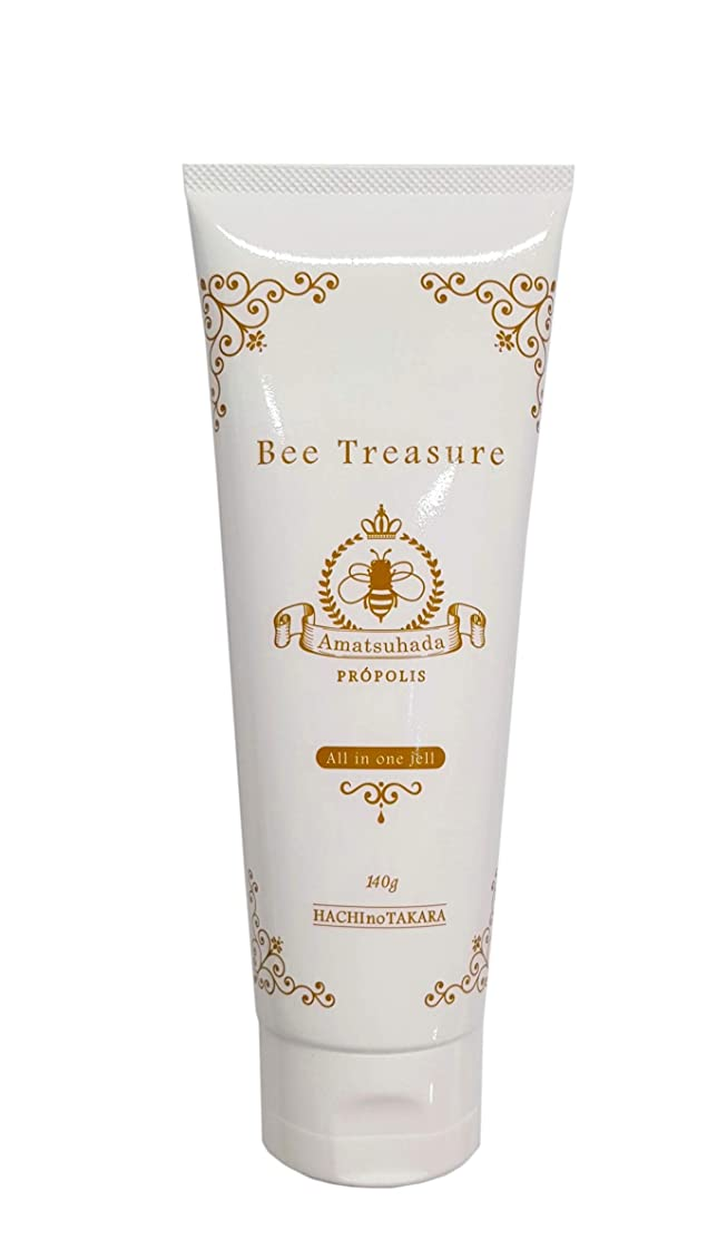 父方のについて仕えるBee Treasure 蜂の彩オールインワンジェル<天女肌~Amatsuhada>