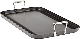 "All-Clad E7951464 HA1 Hard Anodized Nonstick Dishwaher Safe PFOA Free Grande Griddle Cookware, 13 20-Inch, Black, 13"" x 20"""